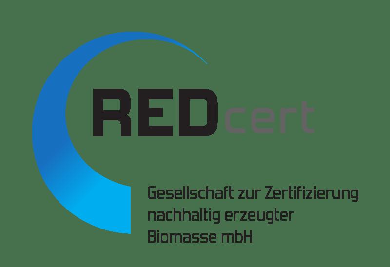 Logo RedCert - Zertifizierung von BioMasse
