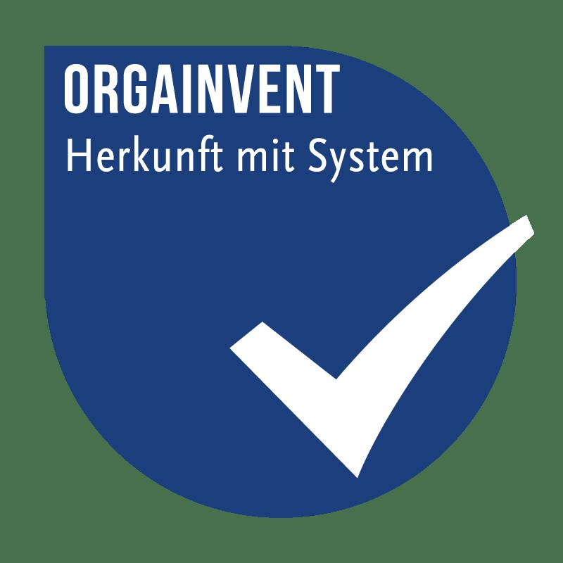 Logo ORGAINVENT Herkunftskennzeichnung von Fleisch